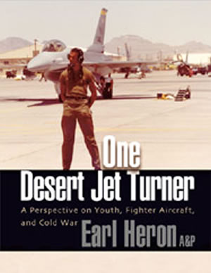 One Desert Jet Turner by Earl Heron